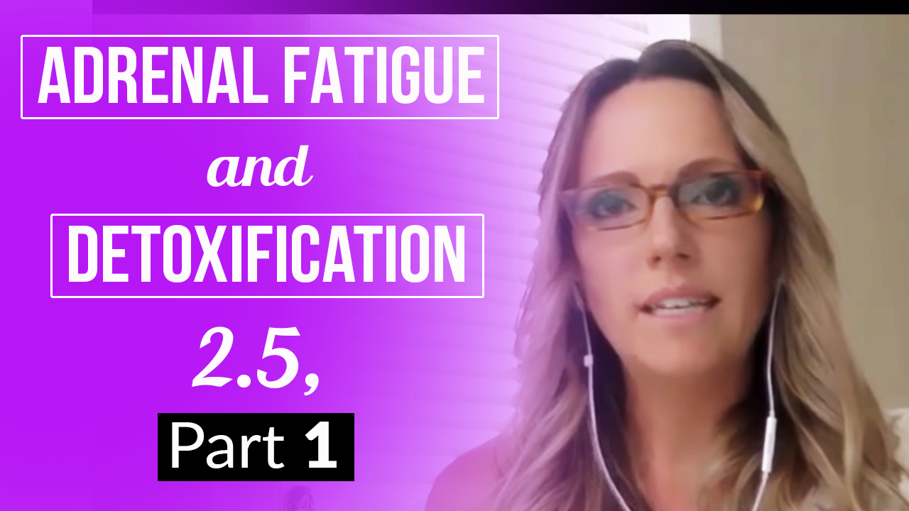 Adrenal Fatigue and Detoxification 2.5