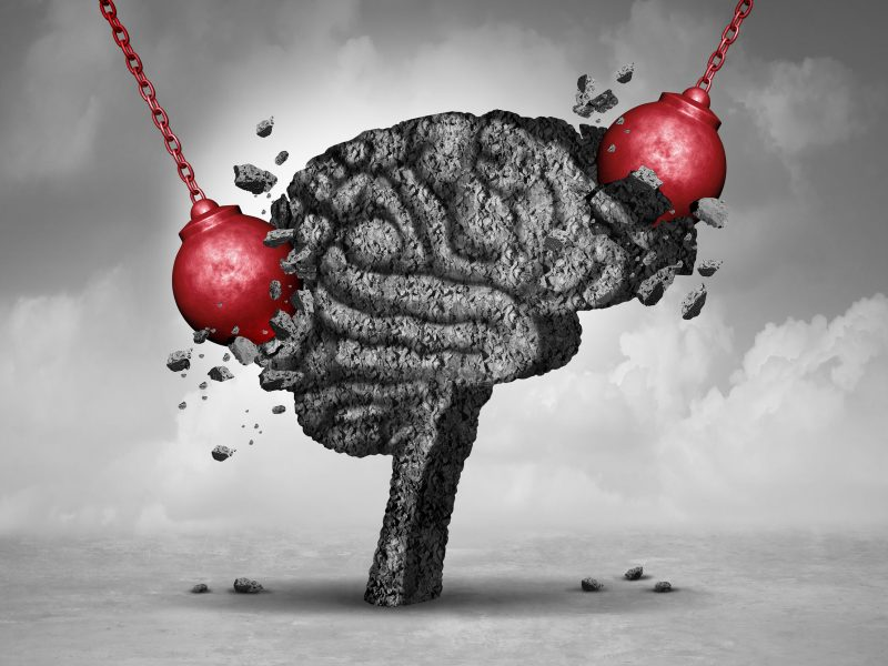 Brain fog and stress